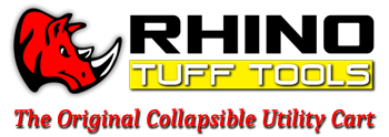 Collapsible Carts by Rhino Tuff Tools
