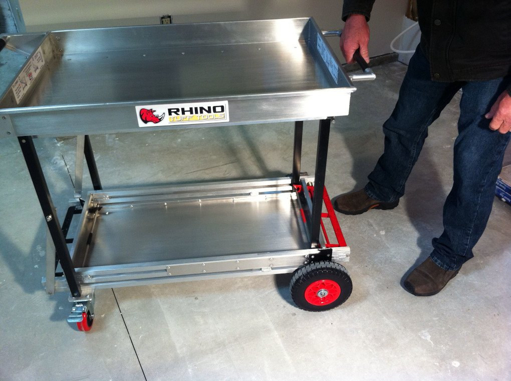 Folding Cart with Wheels 6